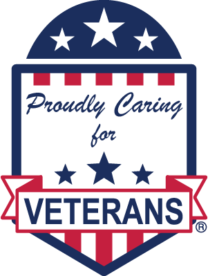 Proudly Caring for Veterans Web Badge 300x400